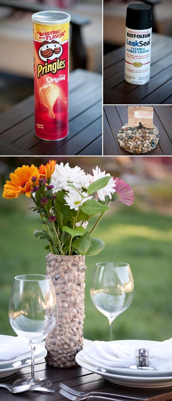 DIY Rustic Rock Vase | Crafts