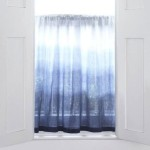 Dip Dyed Ombre Curtains