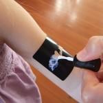 DIY Glitter Tattoos
