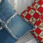 Recycled Denim Pillows