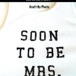 Bride's Bachelorette Silk Screen T-Shirt