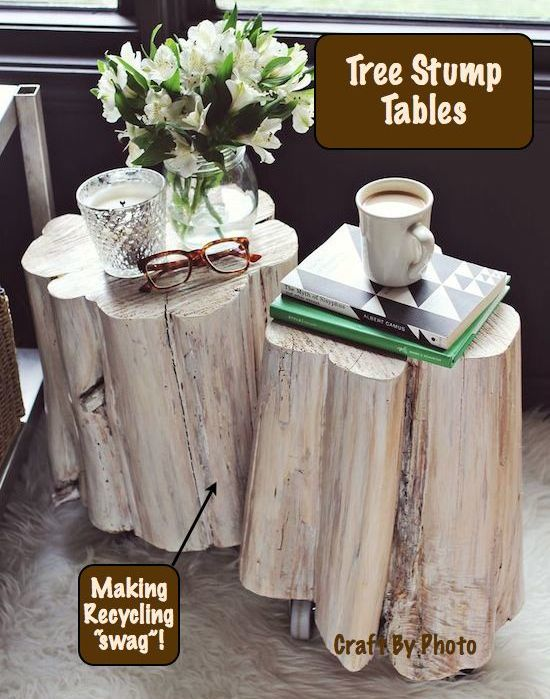 Tree Stump Tables cover