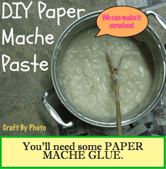 Paper Mache Glue slide