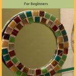 Easy DIY Mosaic Mirror